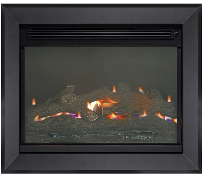 Burley Acumen Flueless Gas Fire Black