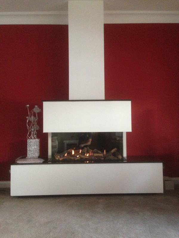 Faber Triple L Gas Fire