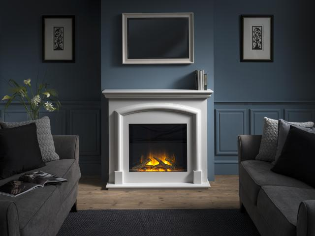 Flamerite Electric Fires - NEW Manhatten Free Standing Fires