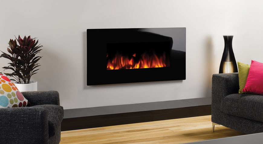 Gazco Electric Glass Wall Mounted Fires