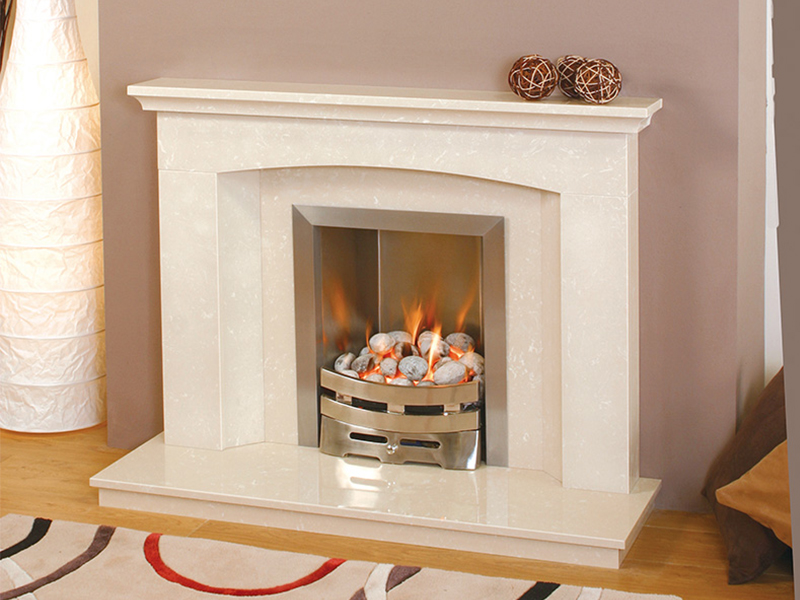 Newmans Rimini Marble Fireplace