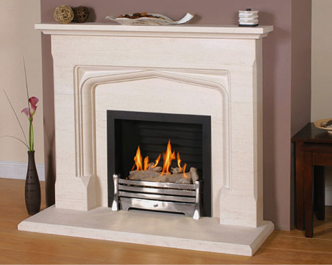 Newmans Fireplaces Tudor Carved Limestone Fireplaces