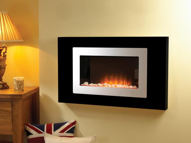 Flamerite Electric Fires - Lazarus Wall Mounted Fire