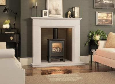 Eternia Inglenook Marble Surround - Elgin and Hall