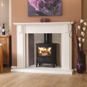 The Alvito Limestone Fireplace