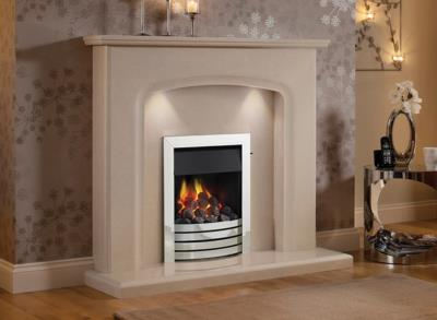 Siena Marble Surround - Elgin and Hall