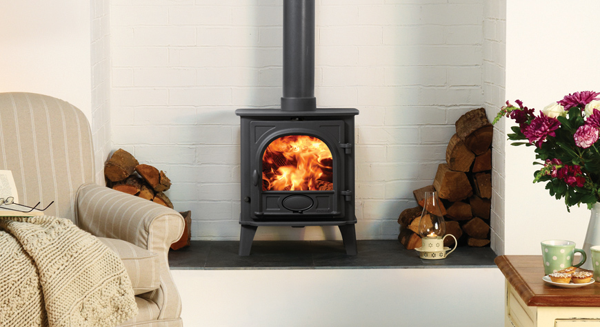 Woodburner Package Deal Inc Fitting - Stovax Stockton 5 - £1690 inc vat