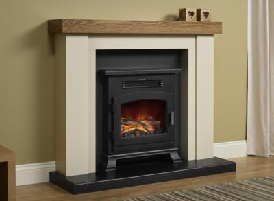 Bracken Electric Fireplace Suite - Elgin and Hall