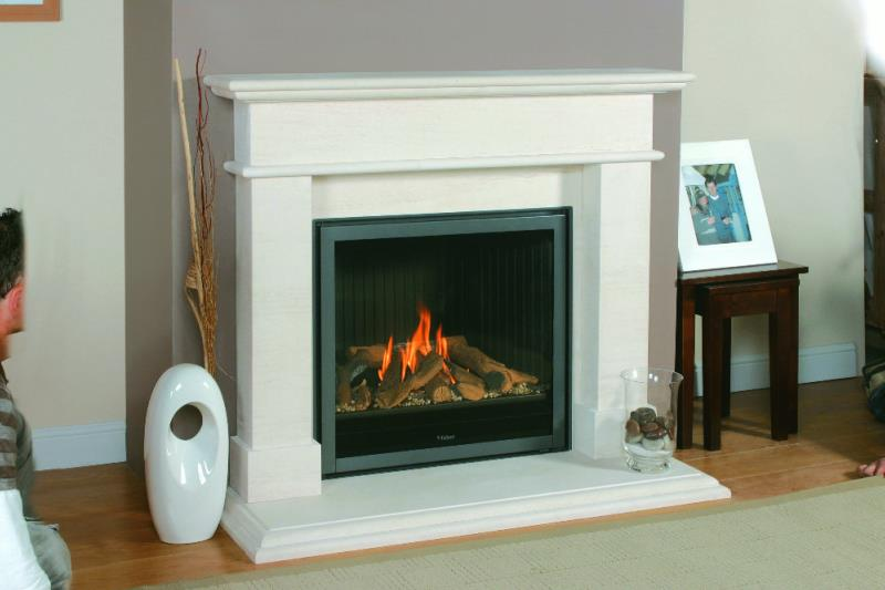 Newmans Amadora Marble Fireplace