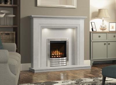 Odella Marble Surround - Elgin and Hall