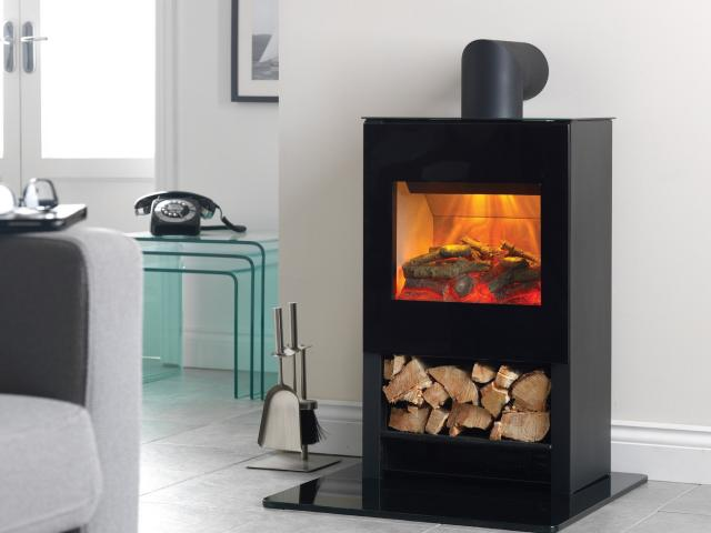 Flamerite Electric Fires - Apollo Tall Stove Electric Fires