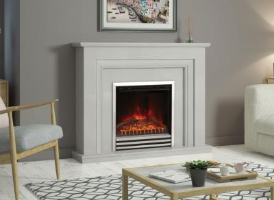 Amorina Electric Fireplace Suite - Elgin and Hall