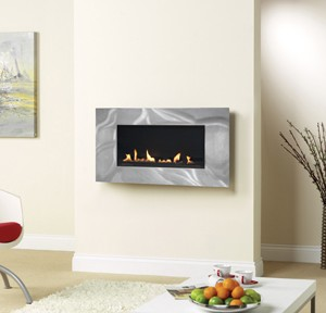 Latitude 4500 + 841 Trim Flueless Gas Fire