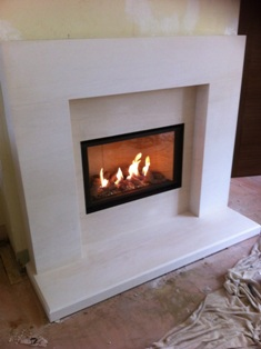 Installations of Faber Presence Gas Fire