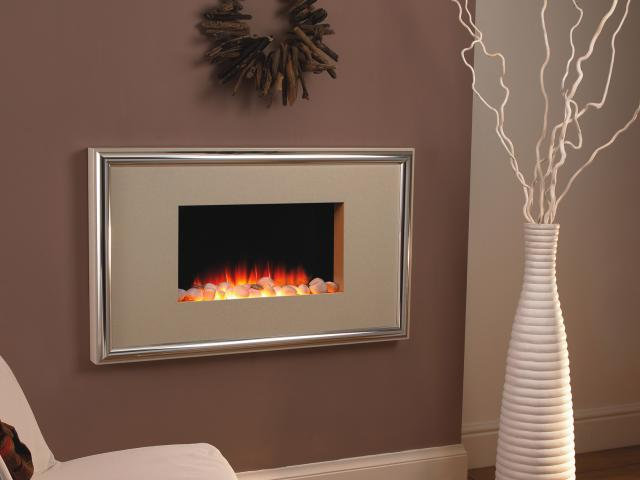 Flamerite Electric Fires - Corello Wall Mounted Fire