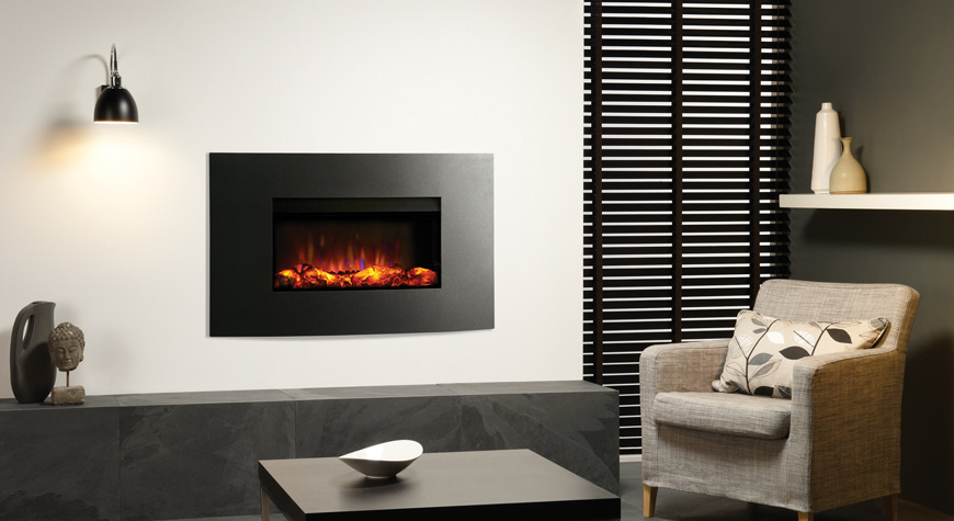 Gazco Riva2 670 Electric Verve Wall Mounted Fires