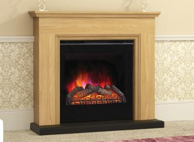 Berkley Electric Fireplace Suite - Elgin and Hall