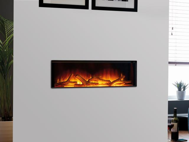 Flamerite Electric Fires - Gotham Frameless Wall Mounted Fire