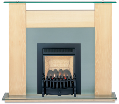 Burley Environ Black Flueless Gas Fire