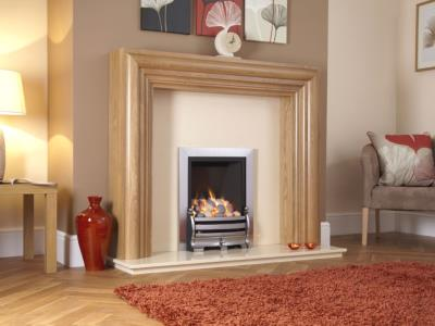 Kohlangaz Gas Fire - Delamere Plus Gas Fire